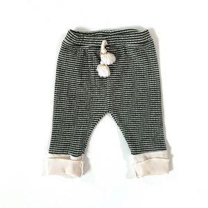 Zara Baby Girl Ribbed Leggings